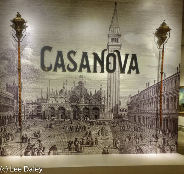 Casanova Exhibit opening at the Legion of Honor museum, San Francisco