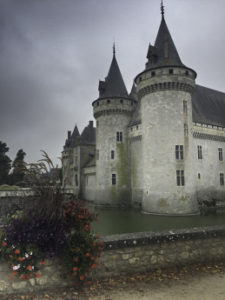 Chateau de Sully Sur Loire, Floating the Loire Canal on the Renaissance Barge, Burgundy, France