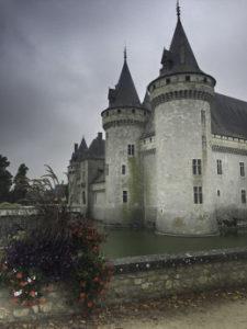 Chateau de Sully Sur Loire, Floating the Loire Canal on the Renaissance Barge, Burgundy, France