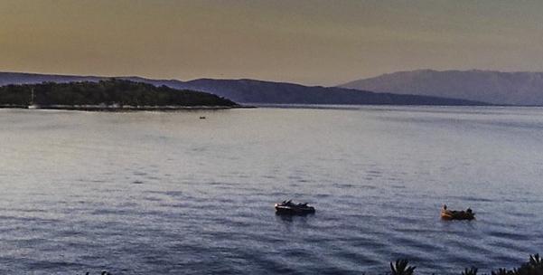Sunset on Hvar, Hvar Island the Adriatic jewel of Croatia's Dalmatian coast