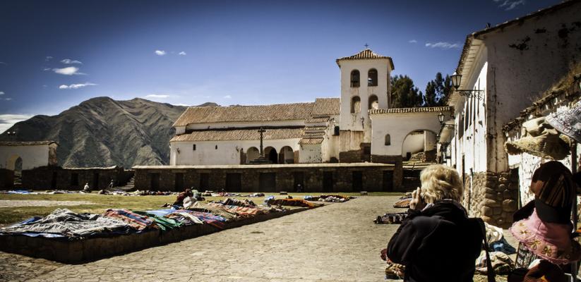 Chinchero Thursday market, Chinchero, Peru