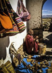 Chinchero Thursday market, Cusco, Cuzco, Peru