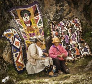 Local weavers of Chinchero, Peru