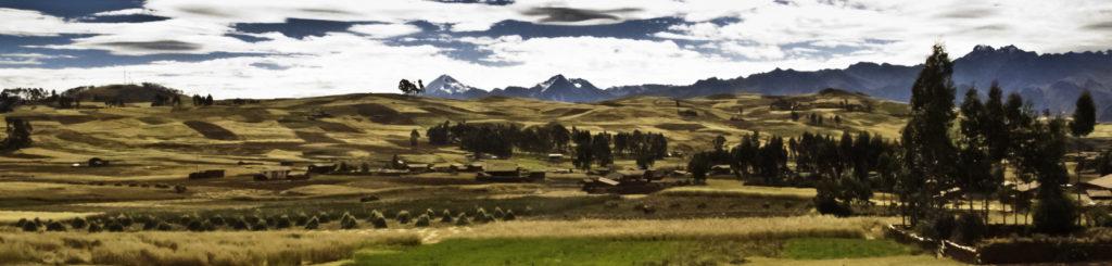The Sacred Plateau, Sacred Valley near Chinchero, Cusco, Cuzco, Peru