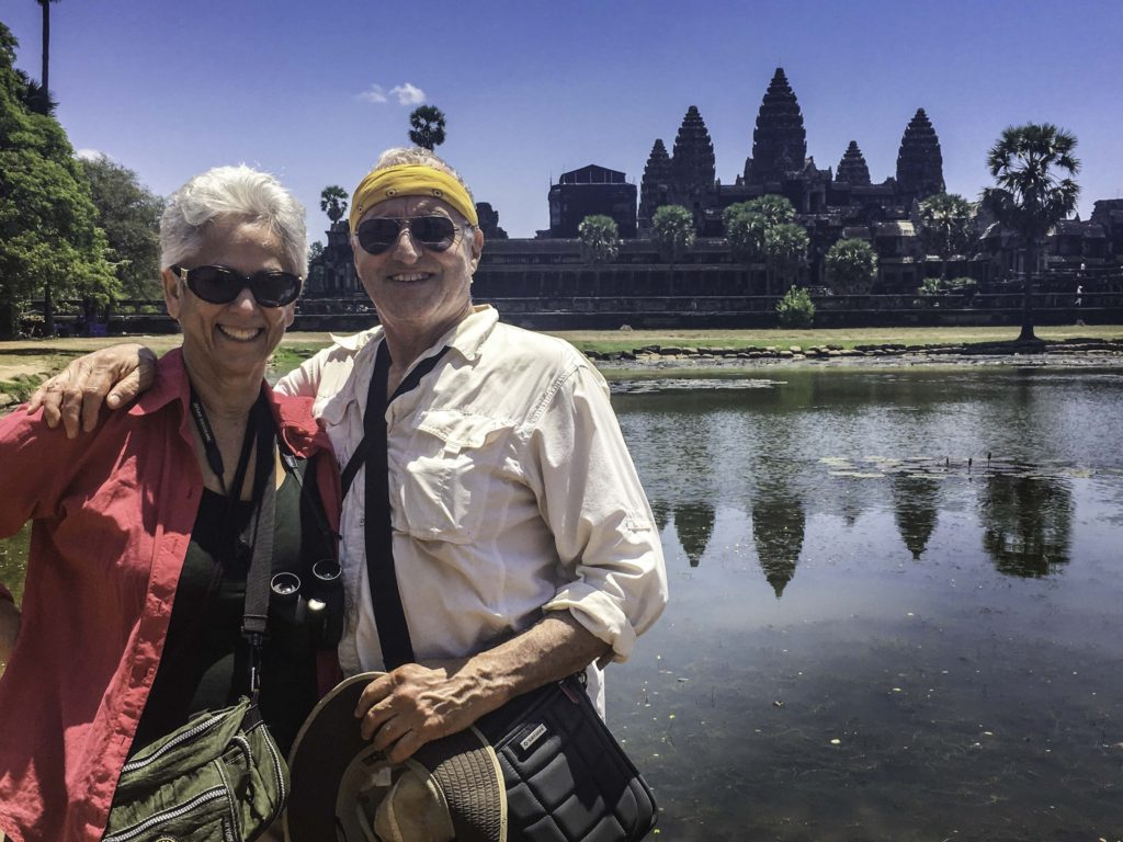 Mekong River cruise. Angkor Wat and the glories of the Kingdom of Cambodia as viewed during a Mekong River cruise aboard AmaWaterways new ship, the Amadara, on a cruise from Vietnam into Cambodia