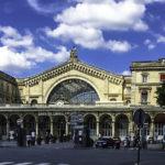 Parisian Train Stations, Gare d'Est Parisian Train Station, Paris, France