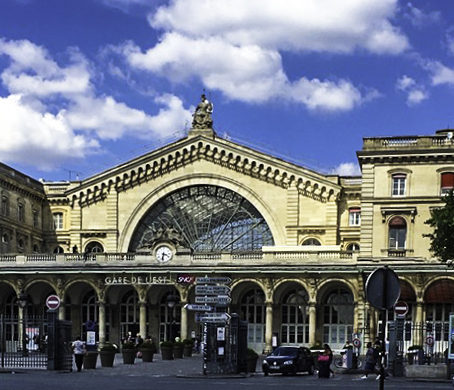 Parisian Train Stations, Gare d'Est Parisian Train Station, Paris, France