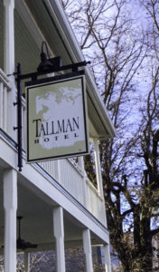Tallman historic hotel, Upper Lake, Lake County, California