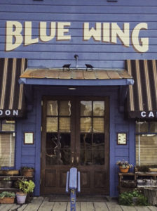 Blue Wing Cafe and Saloon, the heart of Main Street, Upper Lake, Lake County, California