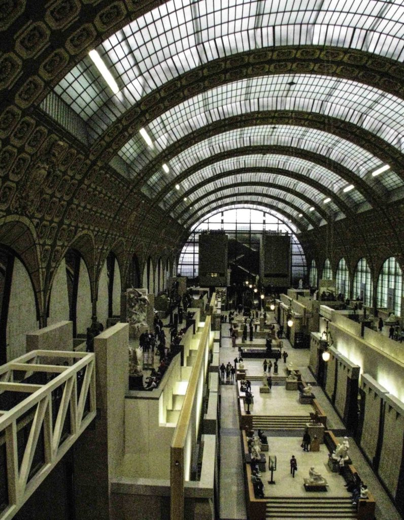 Musée d'Orsay - a former Parisian train station, Paris, France