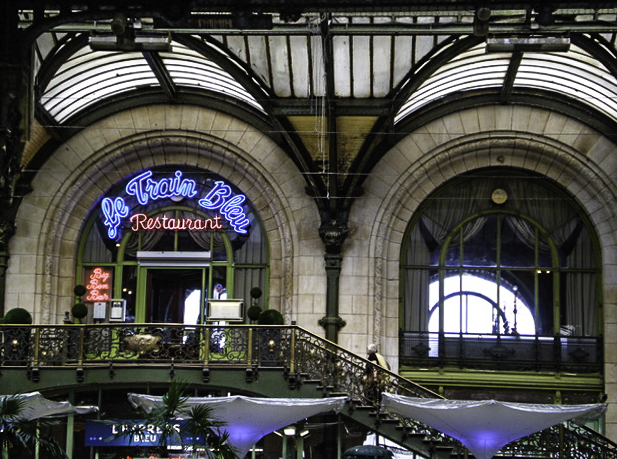 Le Train Bleu restaurant in Gare d'Austerlitz Parisian train station, Paris, France