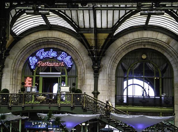 Le Train Bleu restaurant in Gare d'Austerlitz Parisian train station, Paris, France