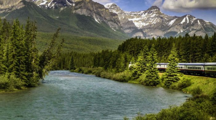Rocky Mountaineer, riding the rails from Banff to Vancouver, BC, Canada, Canadian Trains, train travel, Maple Leaf Train, luxury train travel,