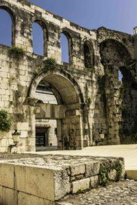 Croatian Wine Tasting in the Dalmatian Islands, Diocletian Palace, Split, Croatia