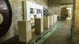 Stina tasting room in Bol on the island of Brac, Croatia