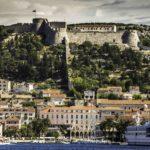 Croatian Wine, Croatian Wine, Croatian Wine Tasting in the Dalmatian Islands, Venetian fort, Hvar town, Hvar Island, Croatia