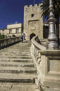 Grand entry to Korcula Old Town, Korcula Island, Dalmatian Islands, Croatia, Aegean Sea, Croatia Islands Cruise