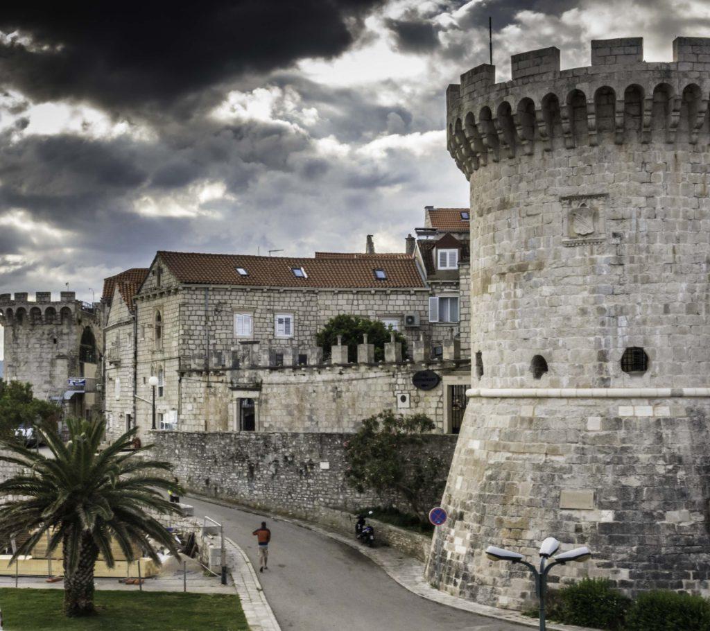 Korcula Old Town, Dalmatian Islands, Aegean Sea, Katerina Line cruise, Croatia Islands Cruise
