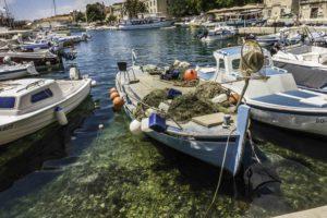 Bol Harbor - traditional fishing , Bol, Brac Island, Croatia, Dalmatian Islands, Aegean Sea, Katerina Lines cruise, Croatia Islands Cruise