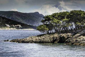 Swim stop in site of Hvar Harbor, Hvar Town, Hvar Island, Croatia, Dalmatian Islands, Aegean Sea, Katerina Line Cruise, Croatia Islands Cruise
