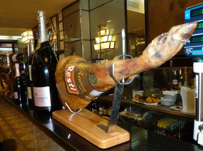 Since 1956 Portugal's famed cured hams and salted cod have been sold at Lisbon's twin Bacalhoaria e Manteigaria Silva café stores, An Appetite for Lisbon, Portugal