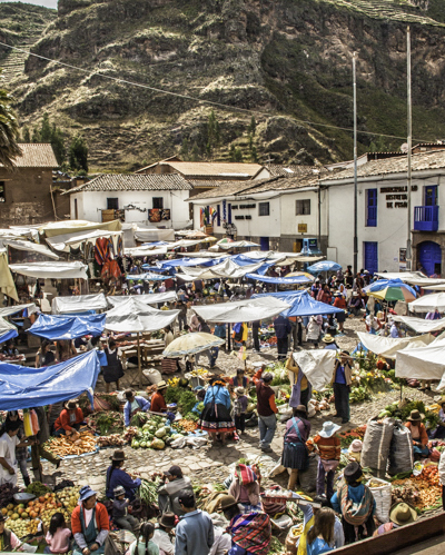Pisac Sunday Market, Peru, Sacred Valley of the Inca