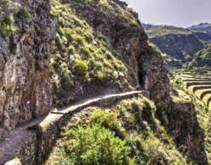 Path to Pisac Intihautana, Peru, Sacred Valey of the Inca