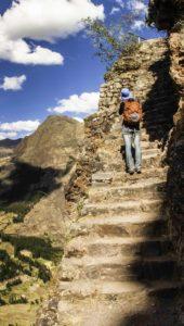 Path to Pisac Intihautana, Peru, Sacred Valley of the Inca