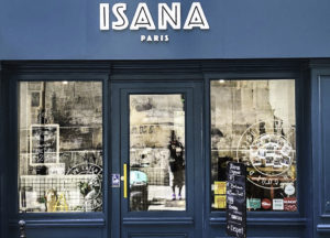 Isana restaurant, Paris, France, for Stepping out Solo in Paris to dine