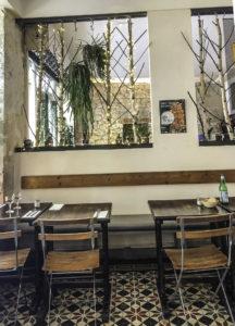Le Jardin Des Pâtes Fraiches restaurant for Stepping out Solo in Paris to dine