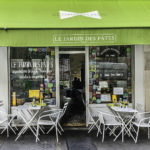 Le Jardin Des Pates Fraiches restaurant, Paris, France, for Stepping out Solo in Paris to dine