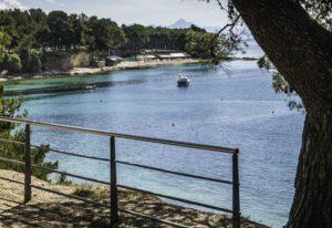 Walkway to Bol, Brac Island, Dalmatian Islands, Aegean Sea, Croatia, Cruising the Dalmatian Islands with Katarina Line, Croatia Islands Cruise