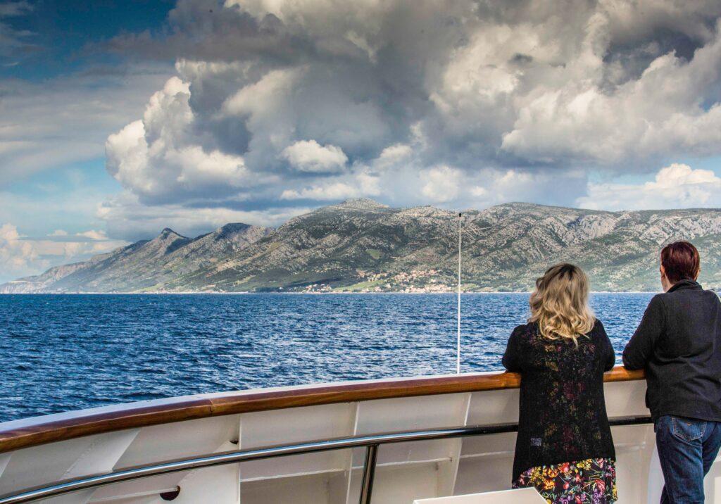 Cruising the Dalmatian Islands, Katerina Lines, Futura, Brac Island, Aegean Sea, Croatia, Croatia Islands Cruise