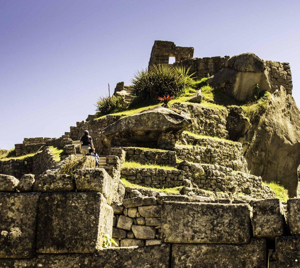 Temple of the Sun God, Machu Picchu, Road to Machu Picchu, Cusco region, Peru