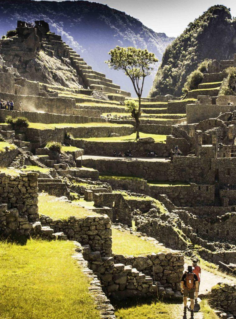 Machu Picchu, Road to Machu Picchu, Cusco region, Peru