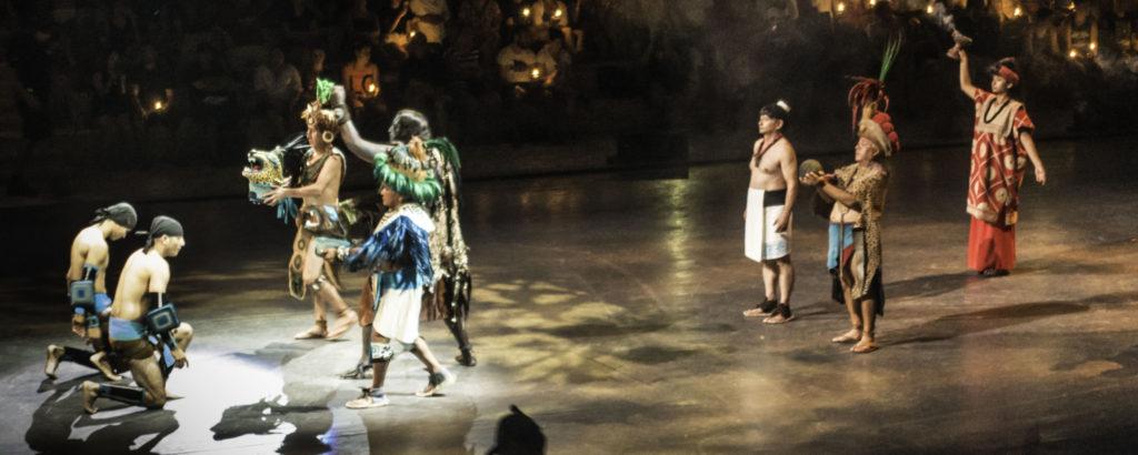 Mexico Espectacular performance at Xcaret, Playa del Carmen, Quintanaroo, Mexico