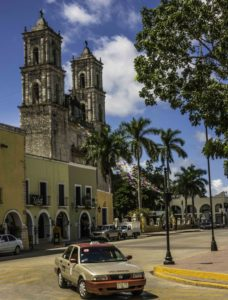 Valladolid cathedral, Quintanaroo, Mexico
