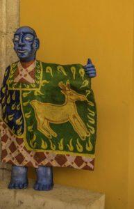 Signature piece for Casa de los Venados (house of the sacred deer), Valladolid, Quintanaroo, Mexico