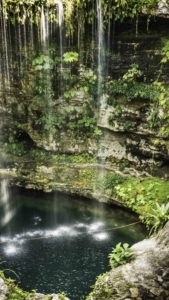 Cenote Saamal at Hacienda Selva Maya, Valladolid, Quintanaroo, Mexico