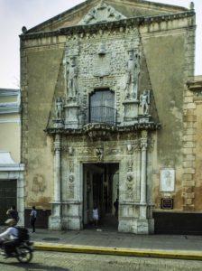 Casa de Montejo, completed in 1542 by Francisco de Montejo, Merida, Yucatan, Mexico