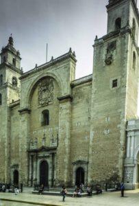 Merida Cathedral, Merida, Yucatan, Mexico