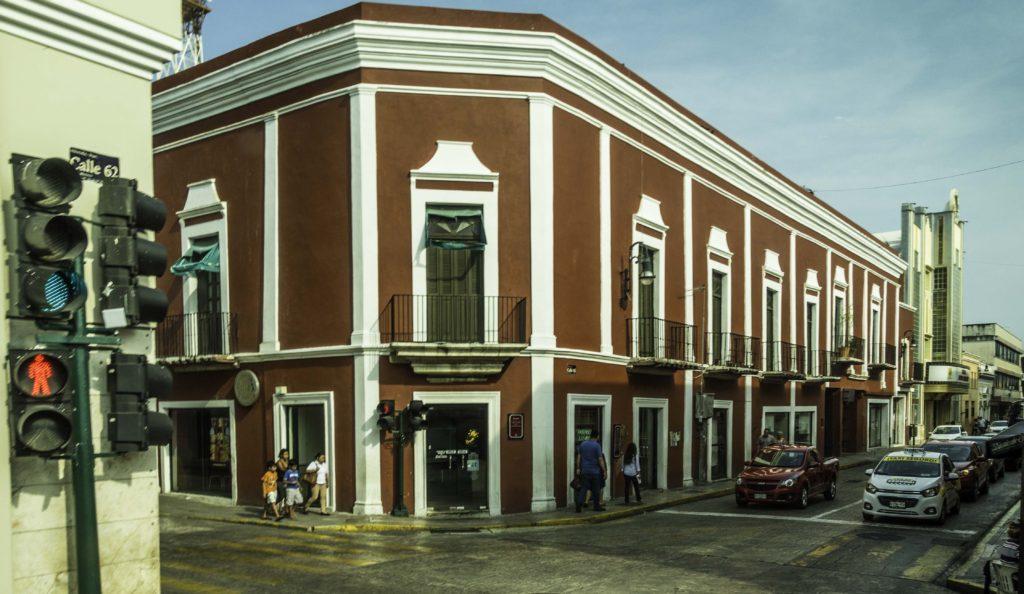 The colonial city of Merida, capital of Yucatan, Mexico