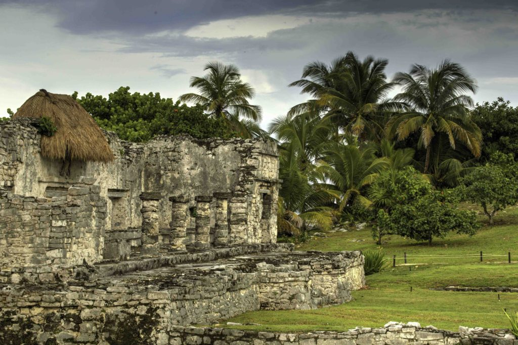 Tulum archeological site, Quintanaroo, Mexico
