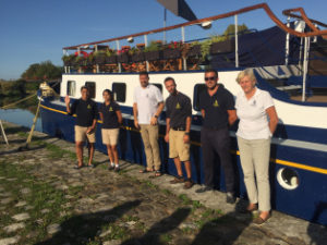 Slow and Easy for a Barge Cruise in Burgundy