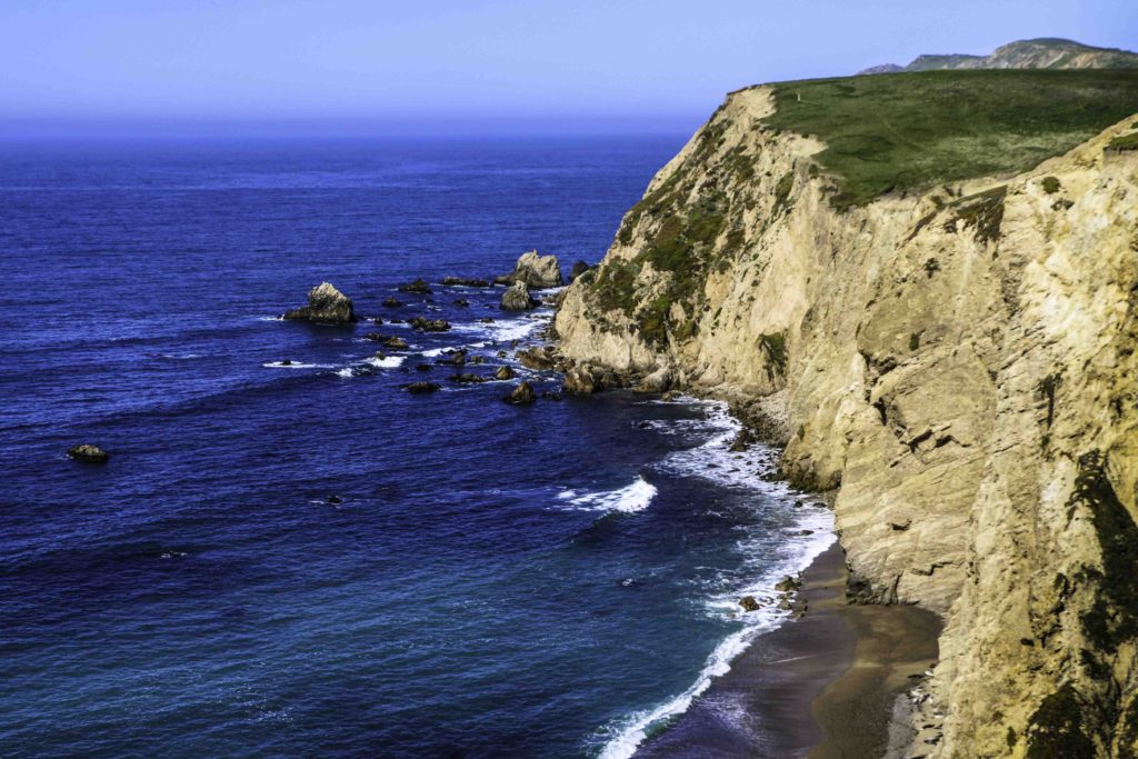 Chimney Rock Headlands, Point Reyes National Seashore, San Francisco Bay Area, Marin County, Northern California, California