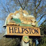 Helpston Village sign, John Clare Country: Bucolic landscape of the most famous English poet you have never heard of