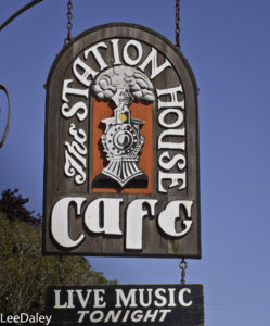 The Station House Cafe, Point Reyes Station, Point Reyes National Seashore, San Francisco Bay Area, Marin County, Northern California, California