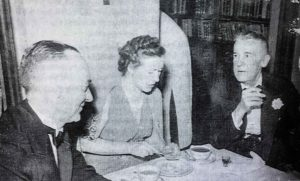 Harry Payne and Selma Nelso Payne entertaining in Shanghai in the 1930s