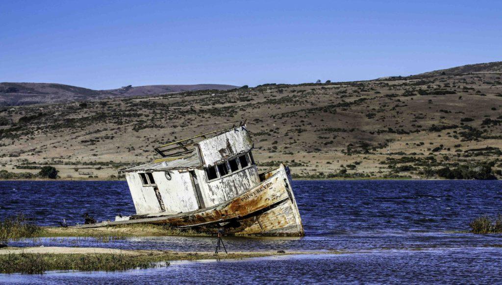 The Point Reyes fishing boat, Point Reyes National Seashore, San Francsico Bay Area, Marin County, Northern California, California