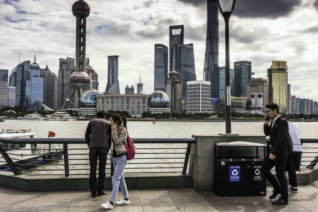 Modern Shanghai from The Bund, Shanghai, China